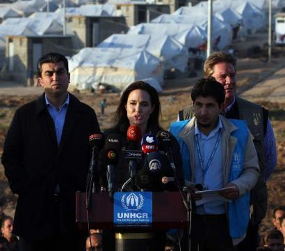 Angelina Jolie, Nations Unies